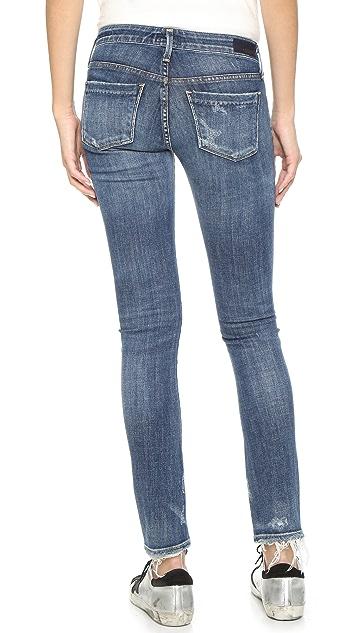 AGOLDE Chloe Low Rise Slim Jeans