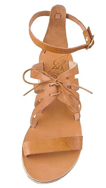 Ancient Greek Sandals Iphigenia Flat Sandals