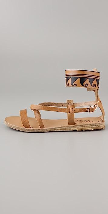 Ancient Greek Sandals Nausica Flat Sandals