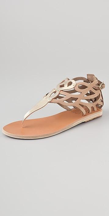Ancient Greek Sandals Medea Flat Thong Sandals