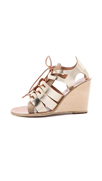 Ancient Greek Sandals Dorotea Wedge Sandals