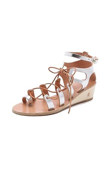 Ancient Greek Sandals Kiveli Demi Wedge Sandals