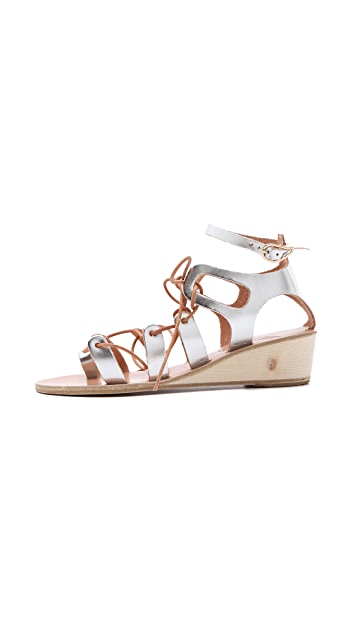 Ancient Greek Sandals Kiveli Demi Wedge Sandals