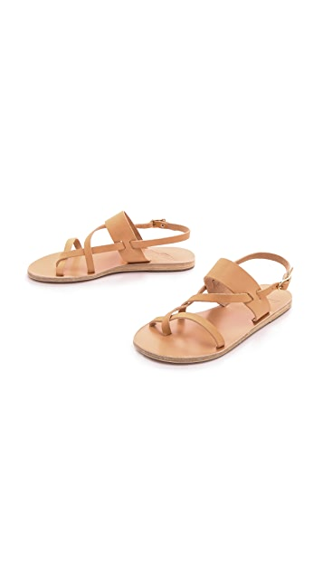 Ancient Greek Sandals Alethea Flat Sandals