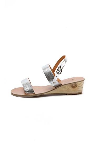 Ancient Greek Sandals Clio Wedge Sandals