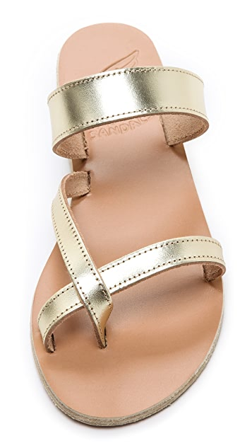 Ancient Greek Sandals Daphnae Flat Sandals