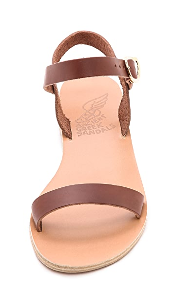 Ancient Greek Sandals Drama Ankle Strap Sandals