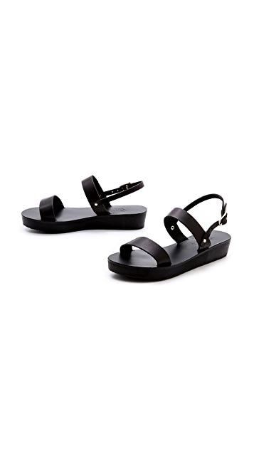 Ancient Greek Sandals Clio Platform Sandals