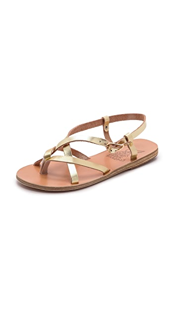 Outlet Wholesale Price Latest Discount Ancient Greek Sandals Semele flat sandals A9iHchb4ZA