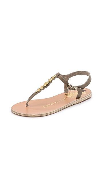 Ancient Greek Sandals Ilias Lalaounis Santorini Thong Sandals