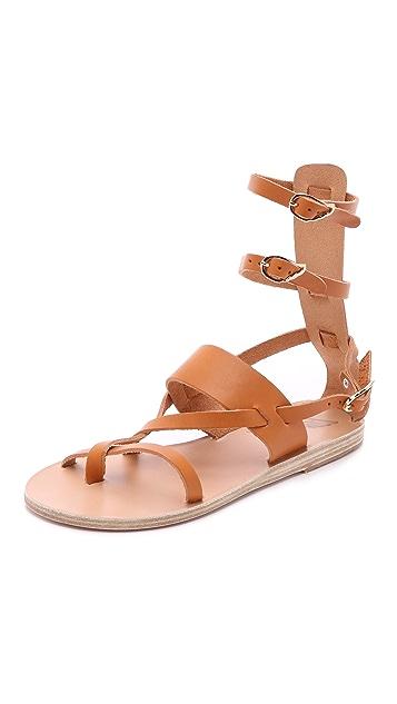 Ancient Greek Sandals Alethea Mid Sandals ...