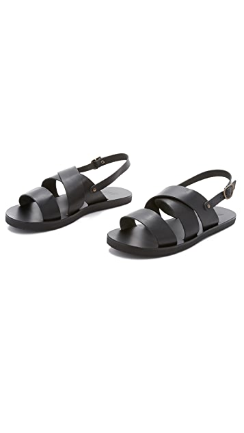 Ancient Greek Sandals Miltos Sandals