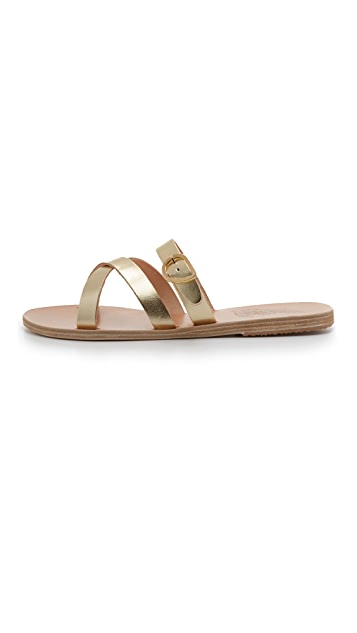 Ancient Greek Sandals Axia Slide Sandals