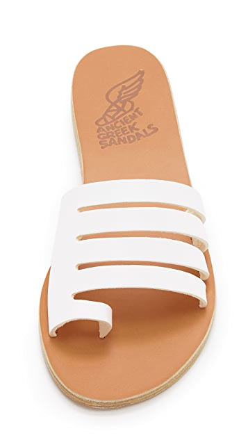 Ancient Greek Sandals Agora Slides