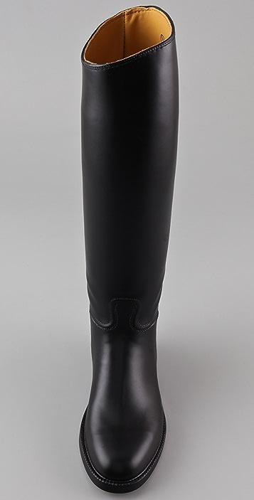 AIGLE Ecuyer Flat Rubber Boots