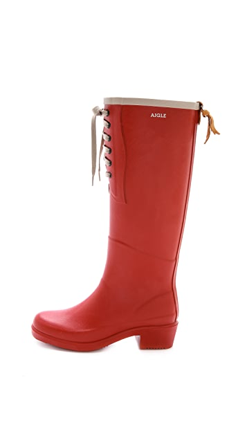 AIGLE Miss Juliette Lace Up Boots