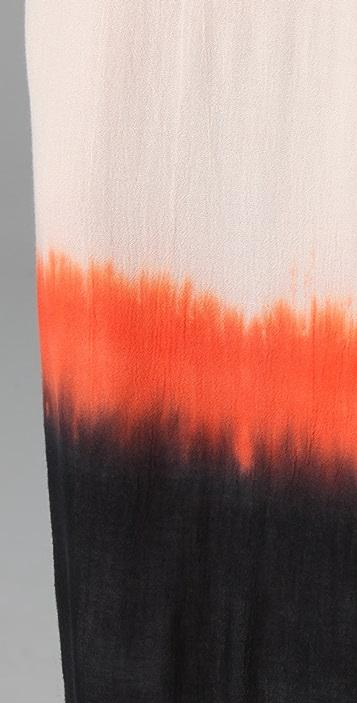 AIKO Chica Paint Dip Maxi Dress
