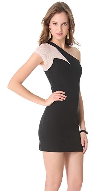 AIKO Kruger One Shoulder Dress