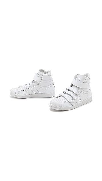 Adidas X Juun.J Promodel 80s High Top Sneakers
