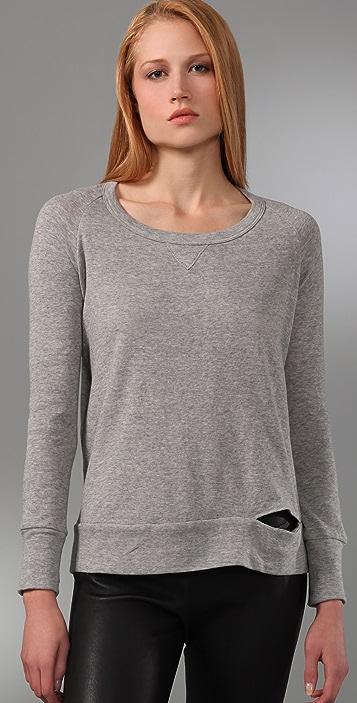 A.L.C. Split Seam Sweatshirt