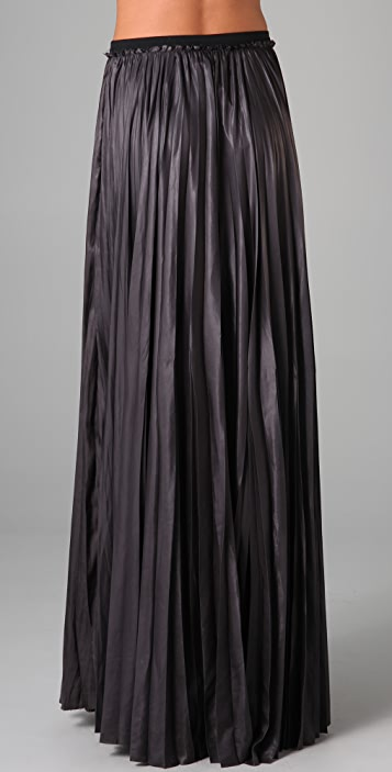 A.L.C. Pleated Long Skirt