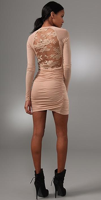 A.L.C. Lace Back Twisty Dress