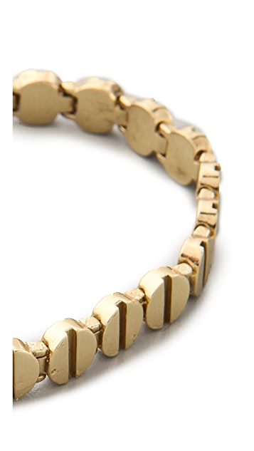 A.L.C. Screw Top Tennis Bracelet
