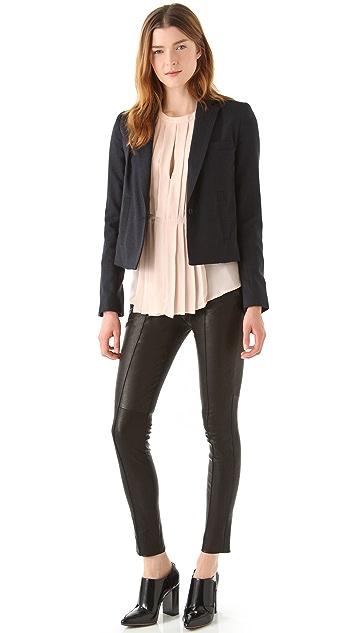 A.L.C. Leather Ridley Pants