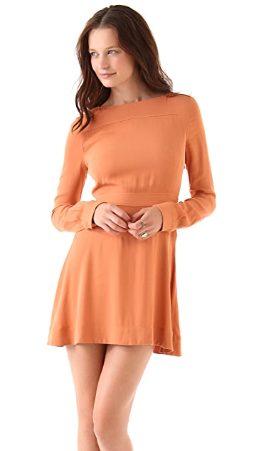 A.L.C. Iola Long Sleeve Dress