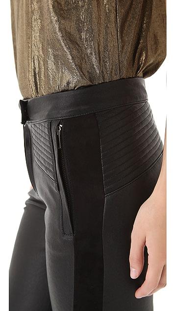 A.L.C. Hendon Leather Pants