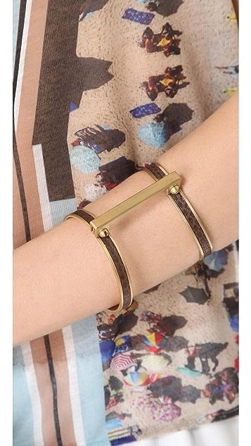 A.L.C. Exotic Handcuff Bracelet