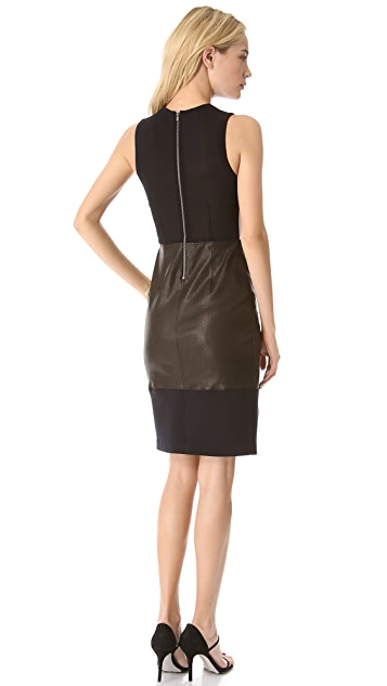 A.L.C. Curil Leather Dress