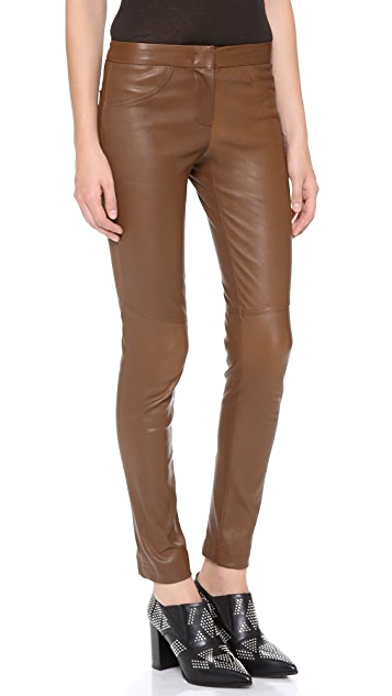 A.L.C. Leather Misa Pants