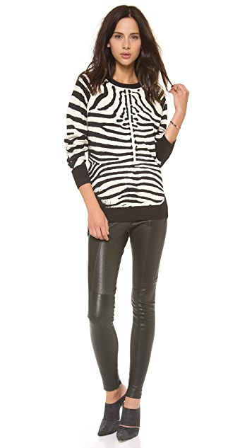 A.L.C. Zebra Sweater
