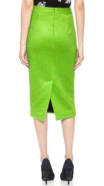 A.L.C. Kane Mohair Skirt