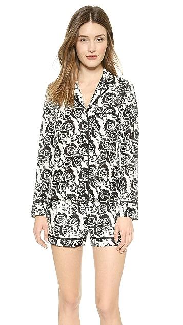 A.L.C. Pajama Short Set