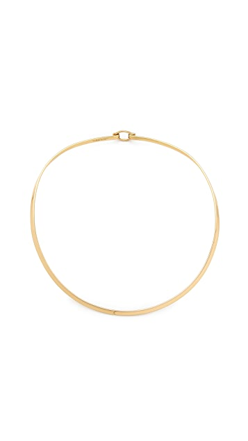 Charles Albert Round Neckwire Collar with Clasp