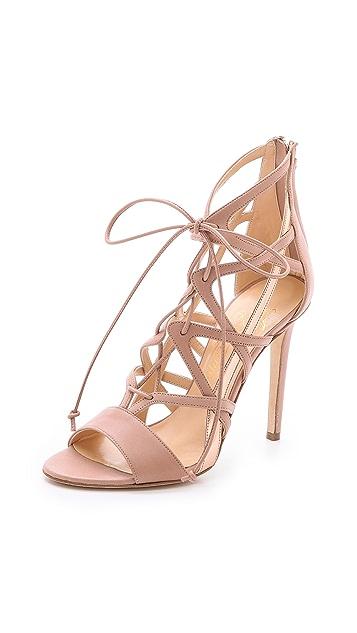 Alejandro Ingelmo Boomerang Lace Up Sandals