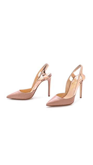 Alejandro Ingelmo Frederica Pointed Toe Pumps
