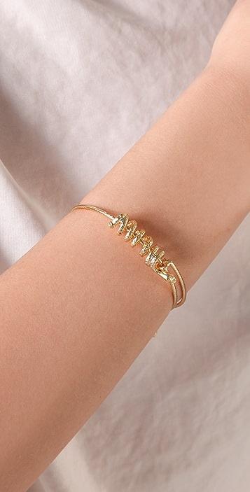 Alex and Ani Snake Bracelet