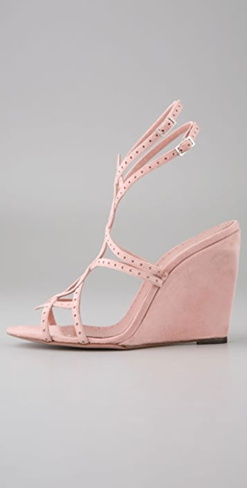 Alexandra Neel Anouket Strappy Wedge Sandals