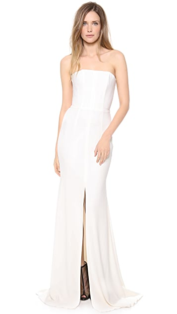 Alex Perry Anne Strapless Gown