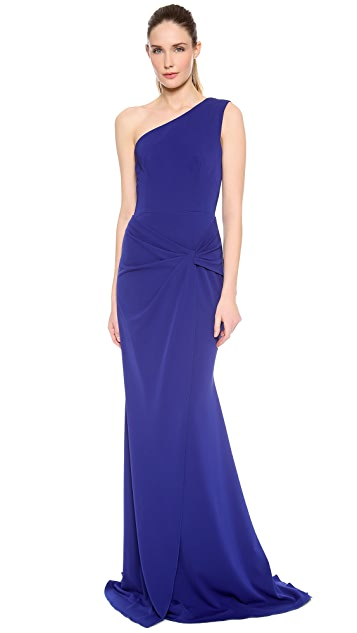 Alex Perry Valetta One Shoulder Gown