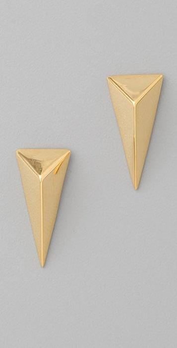Alexis Bittar Pyramid Earrings