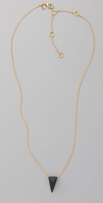 Alexis Bittar Pyramid Charm Necklace