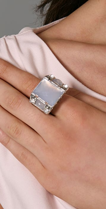 Alexis Bittar Neo Deco Cocktail Ring