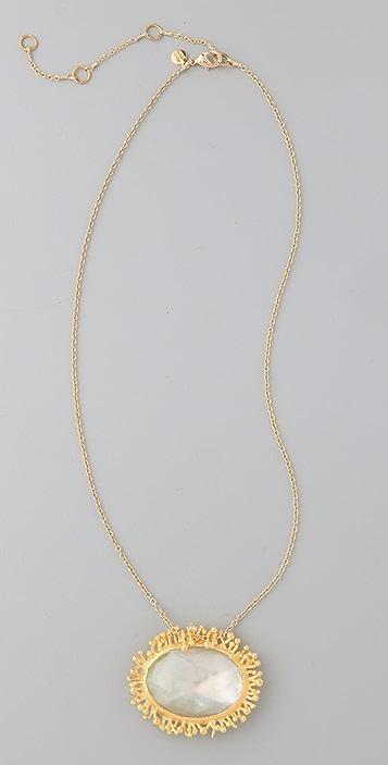 Alexis Bittar Calder Gold Oval Pendant