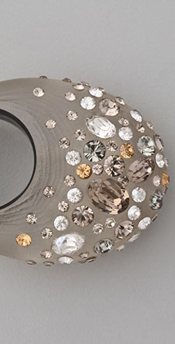 Alexis Bittar Champagne Dust Pave Dome Ring