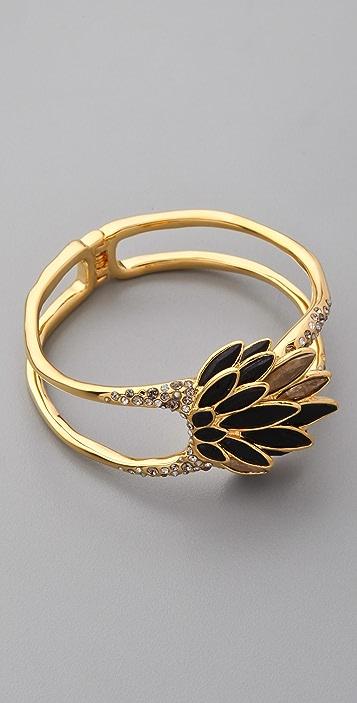Alexis Bittar Crystal Encrusted Aster Bracelet
