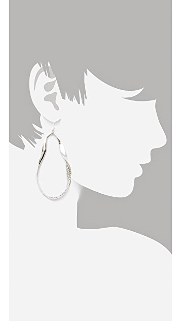Alexis Bittar Bel Air Twisted Tear Earrings